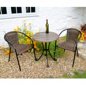 Kalmar Bistro Table with San Remo Chairs
