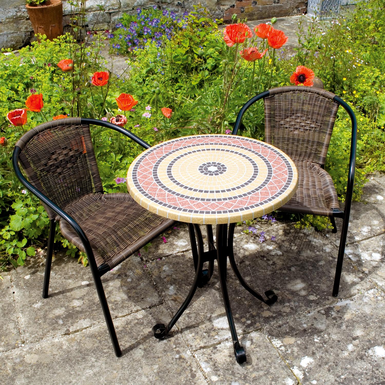 Mataro bistro set with San Remo chairs