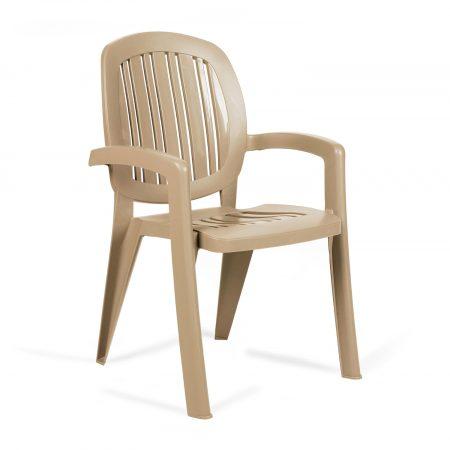 Creta chair in Havanna brown