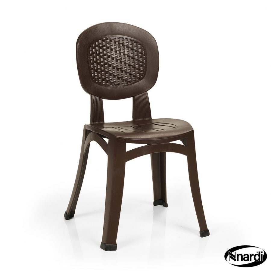 Elba Chair in coffee