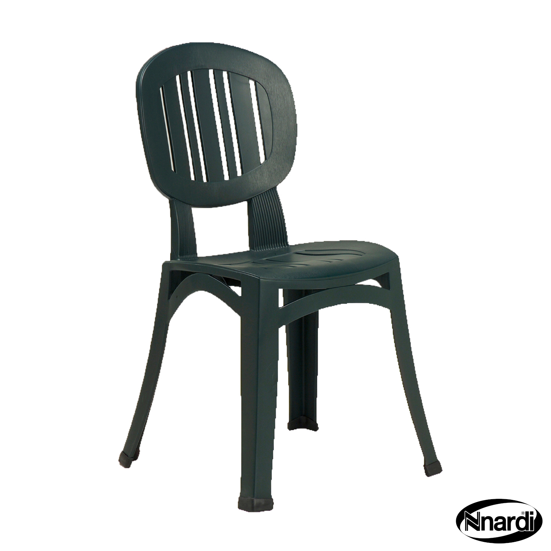 Elba chair in green