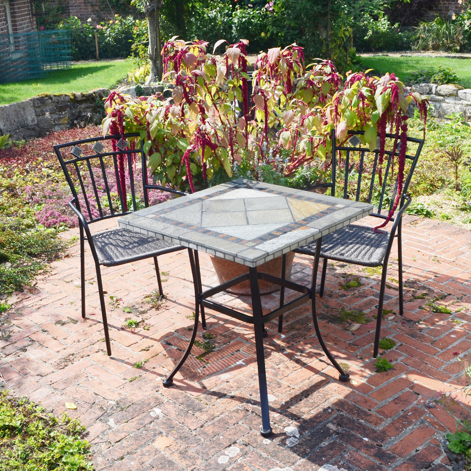 Vinaros table with Murcia chairs