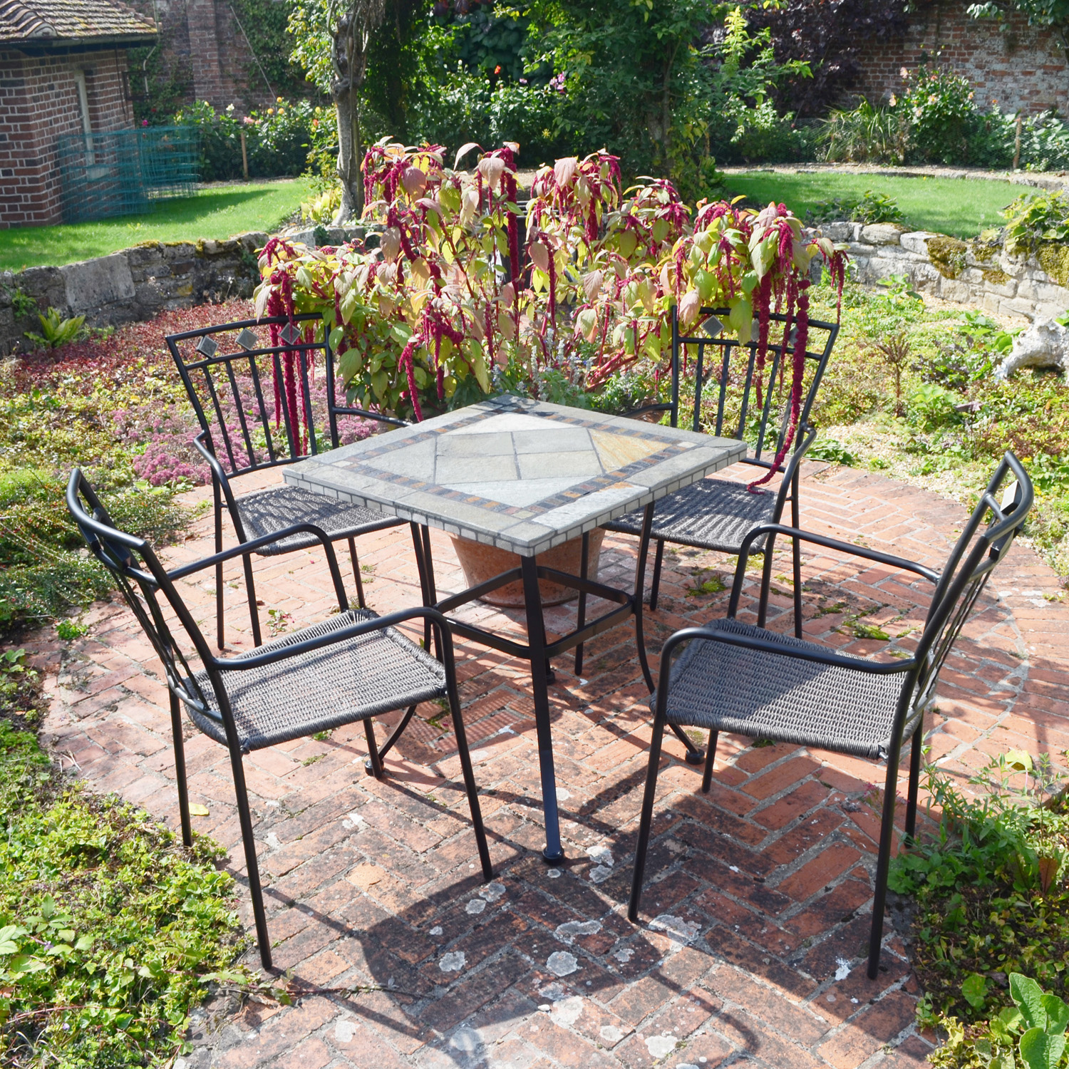 Vinaros table with 4 Murcia chairs