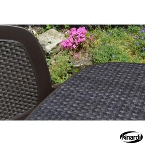Wicker Toscana 165 & Creta chair
