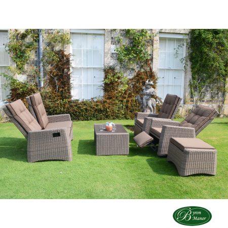 Sherbourne Sofa Set reclined