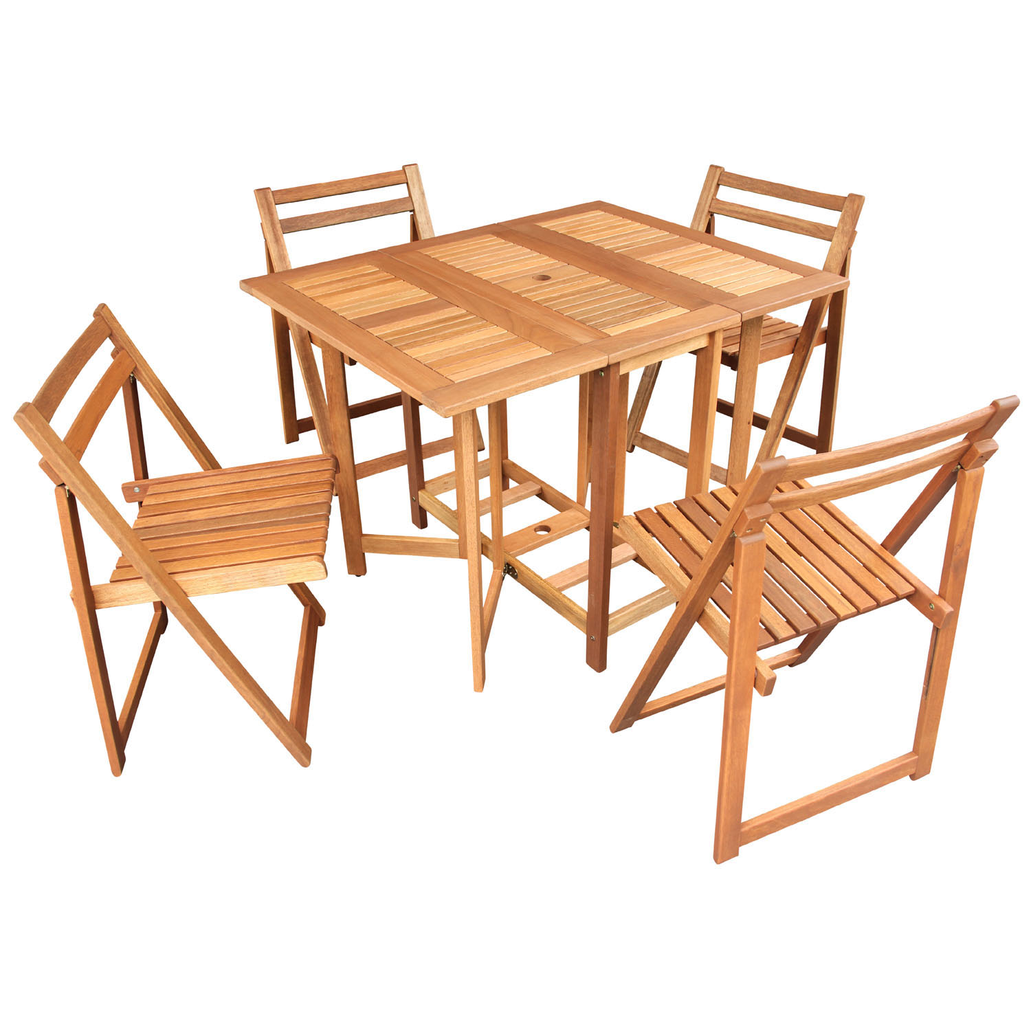 Oslo Hideaway set with 4 chairs
