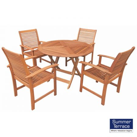 Tervola Table with 4 Tornio Chairs