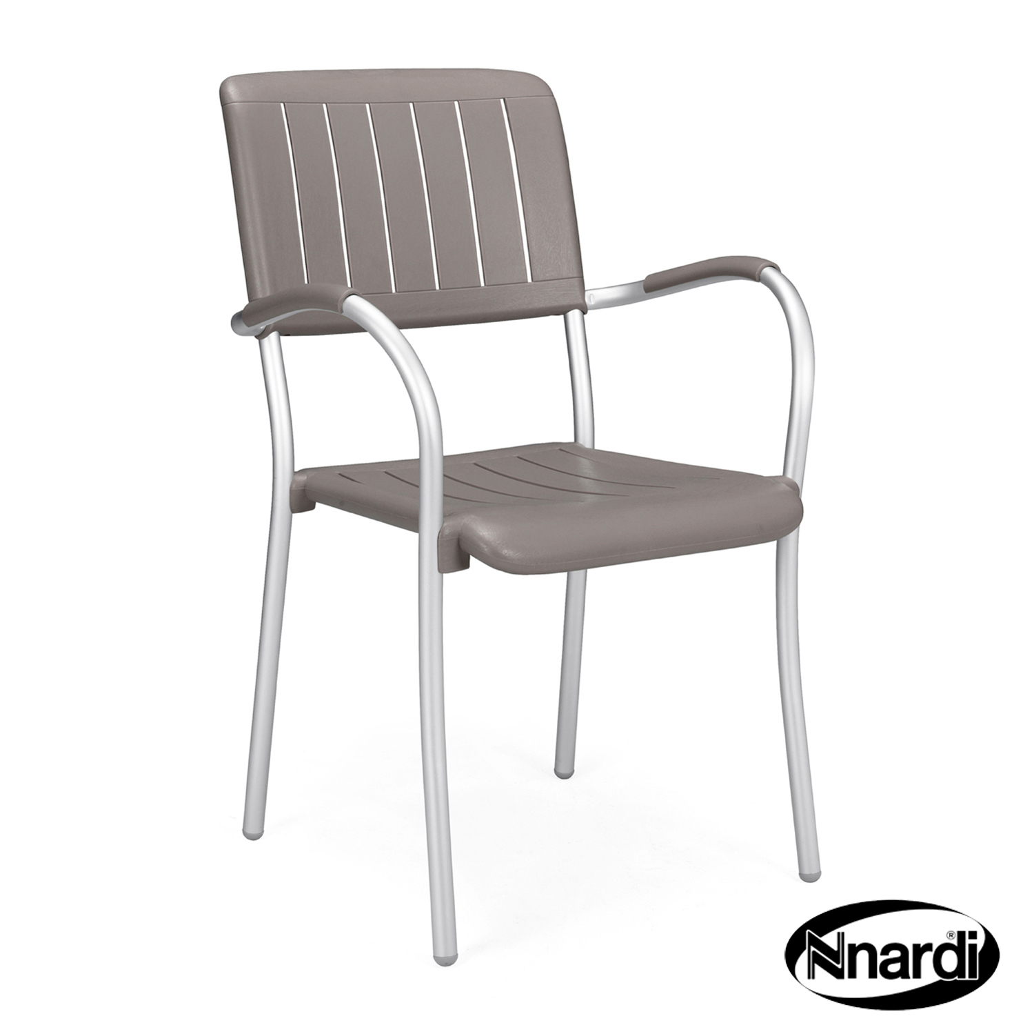 Musa Chair in Turtle Dove grey