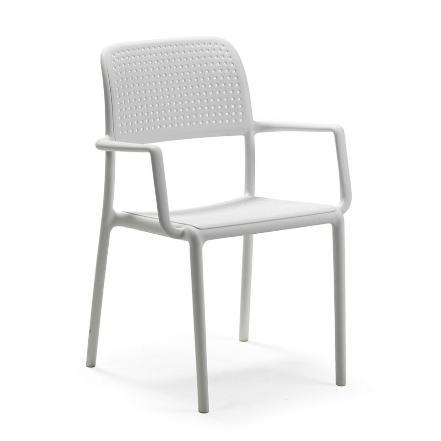 Bora chair white