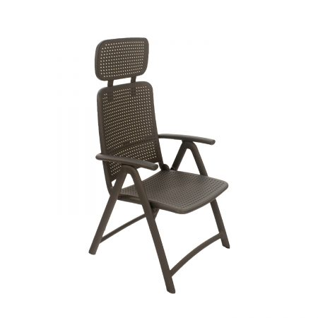 AquaMarina reclining chair in Anthracite