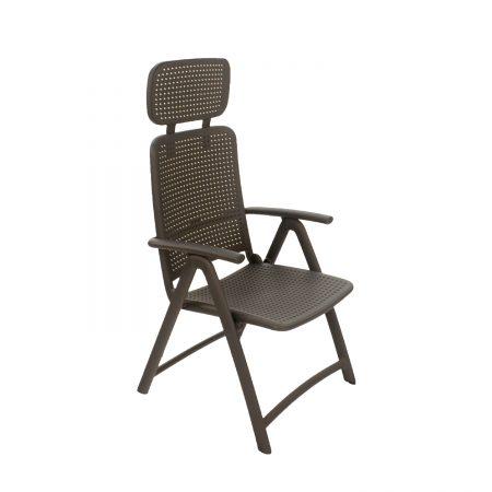 AquaMarina reclining chair in Anthracite