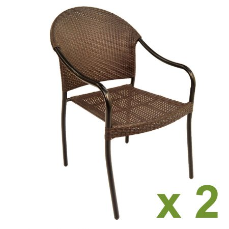 San Tropez chair pack of 2