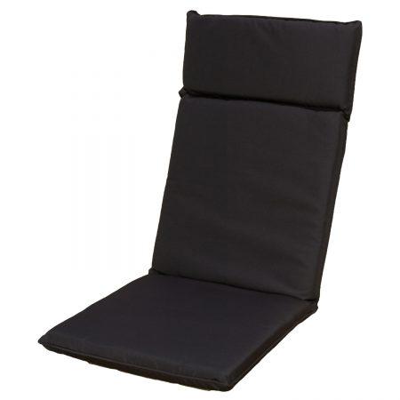 Flora cushion black