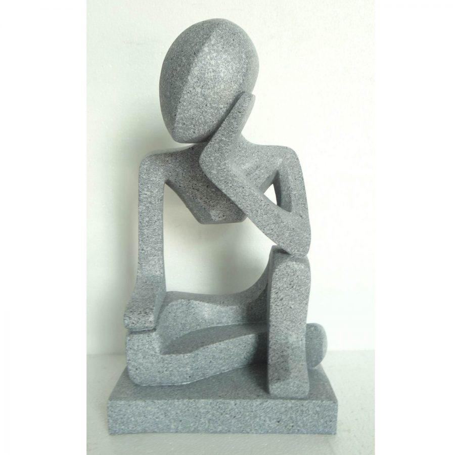 Meteora garden statue
