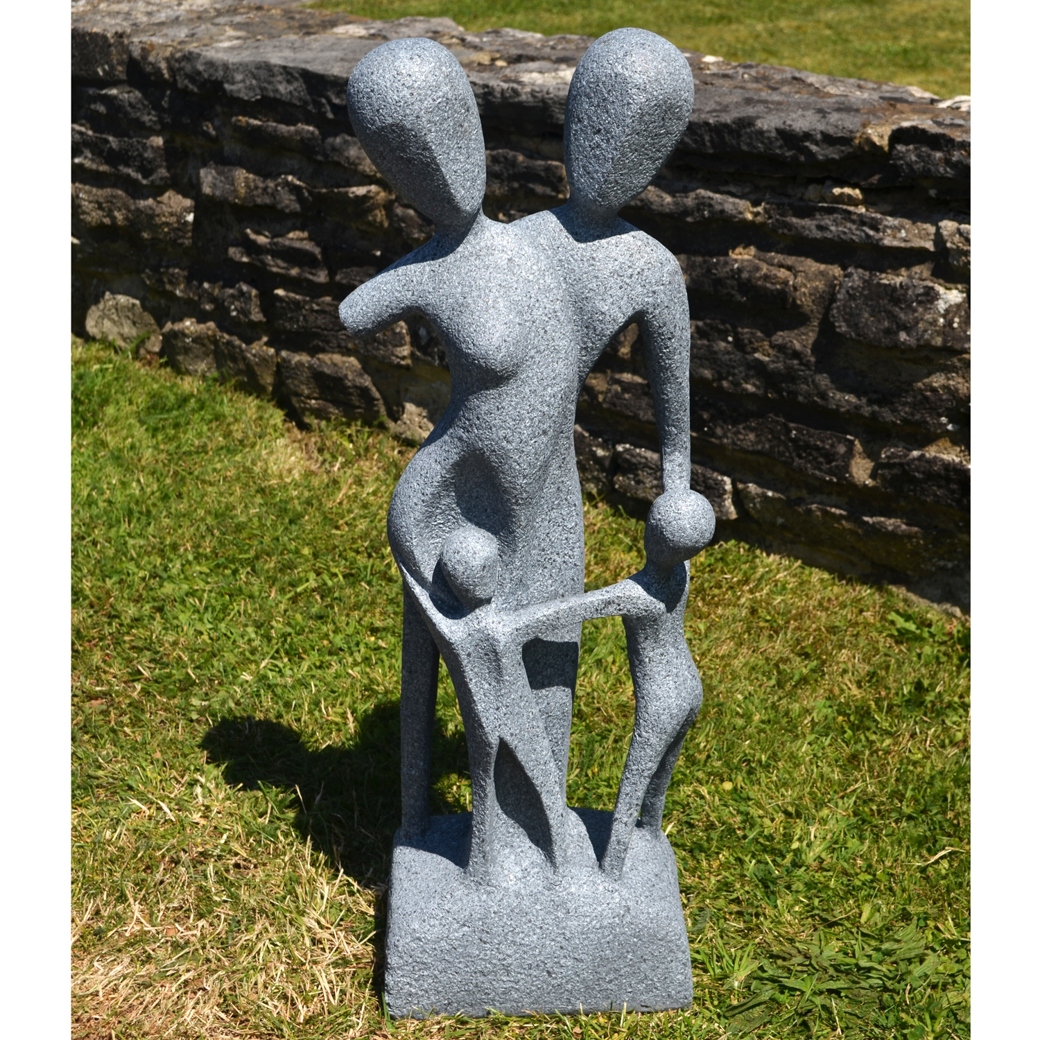 Granite Lawn Ornaments : Teplice statue granite
