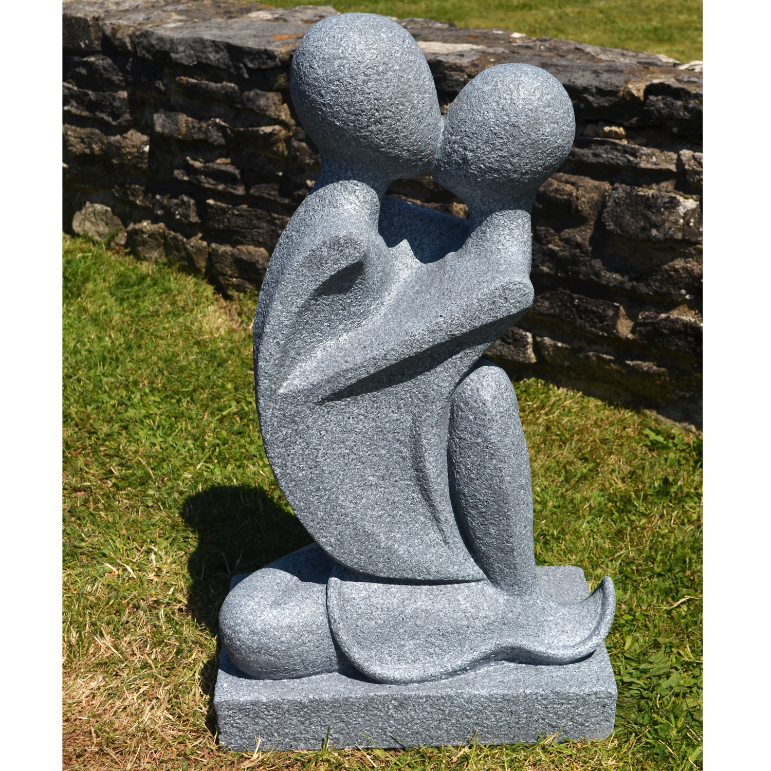 Granite Lawn Ornaments : Sarti statue granite