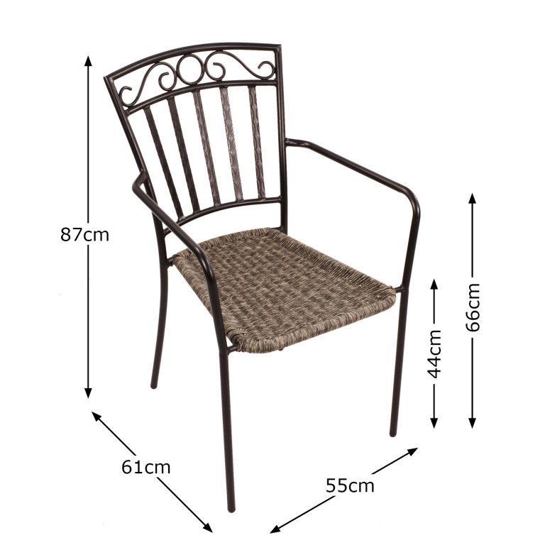 MODENA CHAIR DIMENSION MS1
