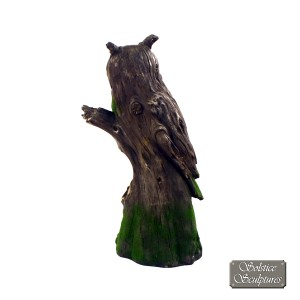 Driftwood Owl back