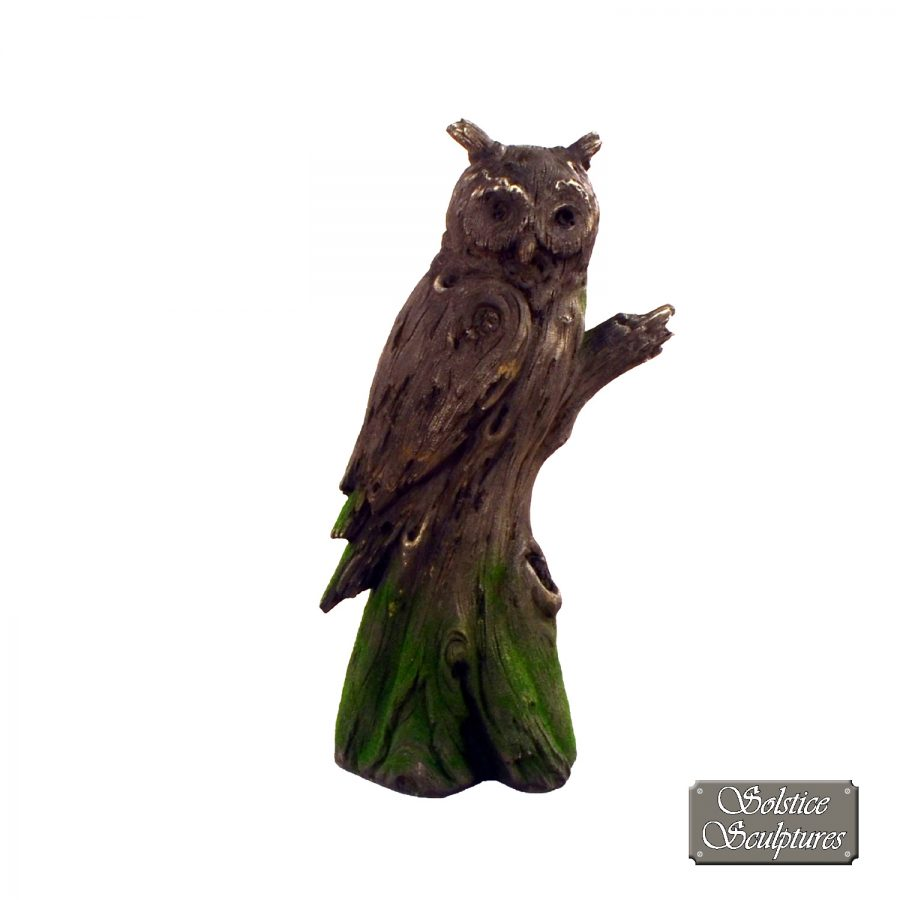 Driftwood Owl front