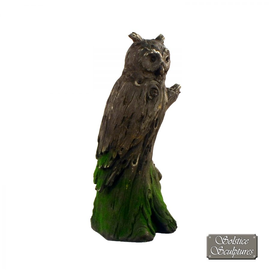 Driftwood Owl front right
