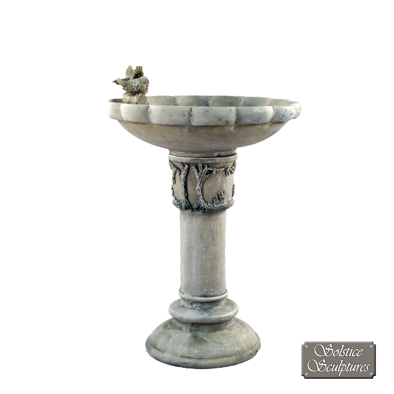 Derwent Antique Stone birdbath