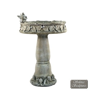Coniston Bird Bath Antique grey
