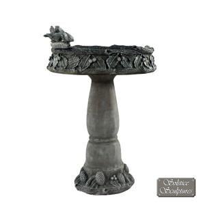 CONISTON Bird Bath Emerald Grey Stone Effect