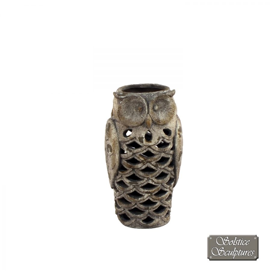 Owl Lantern front