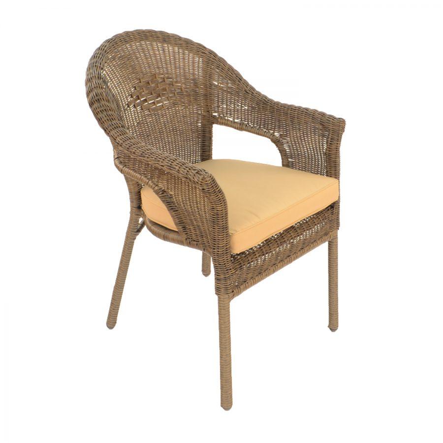 Bavaria Chair, with aluminium frame and cushion