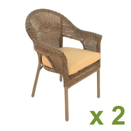 Bavaria Chair pack of 2