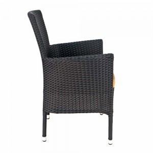 Stockholm chair black - side