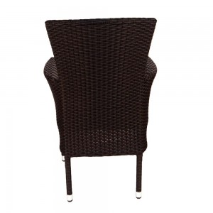 Stockholm chair brown - rear