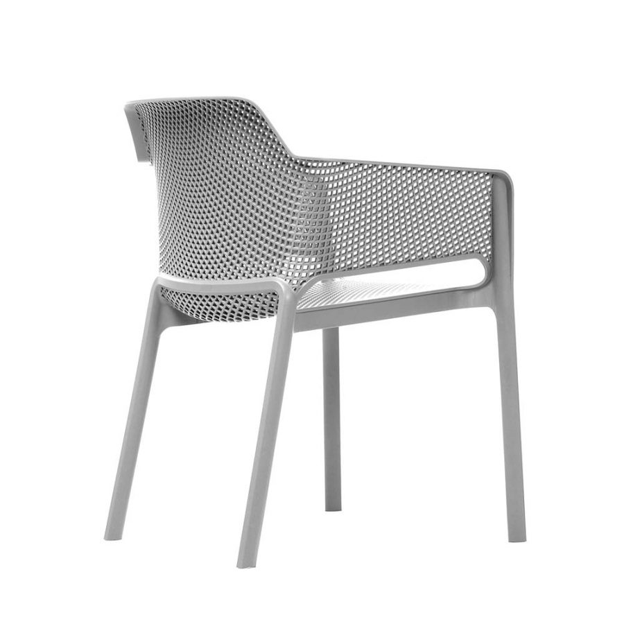 Net Chair White - back side