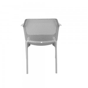 Net Chair White - back