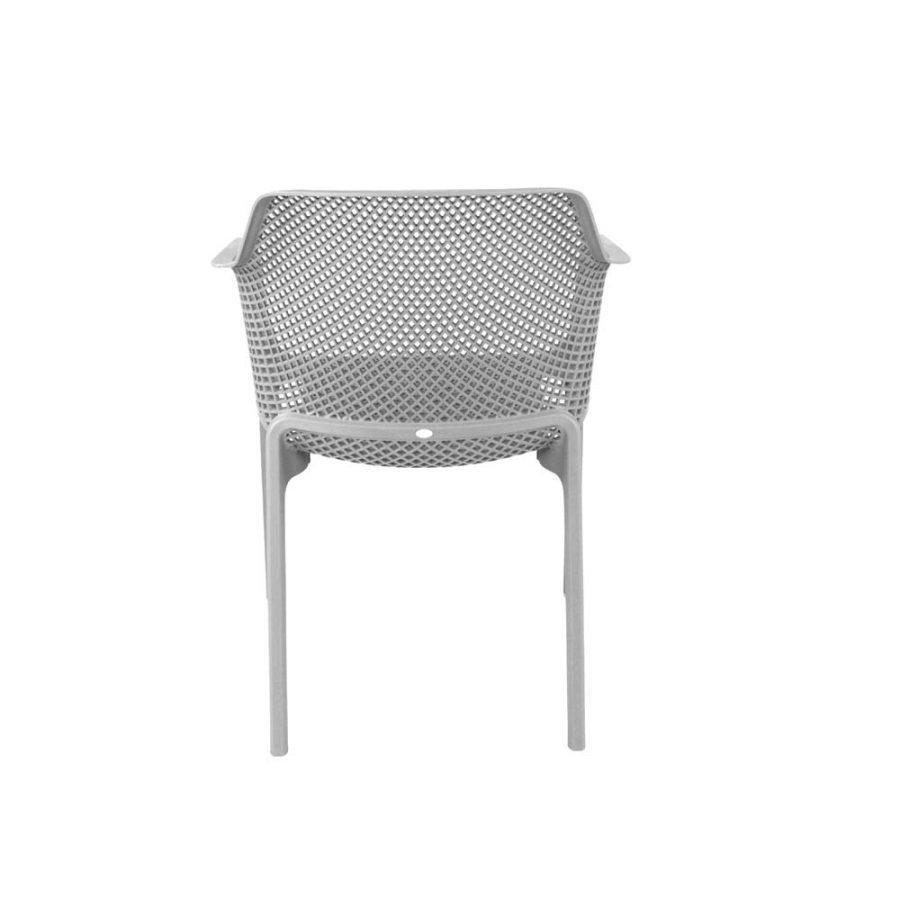 Net Chair White - back