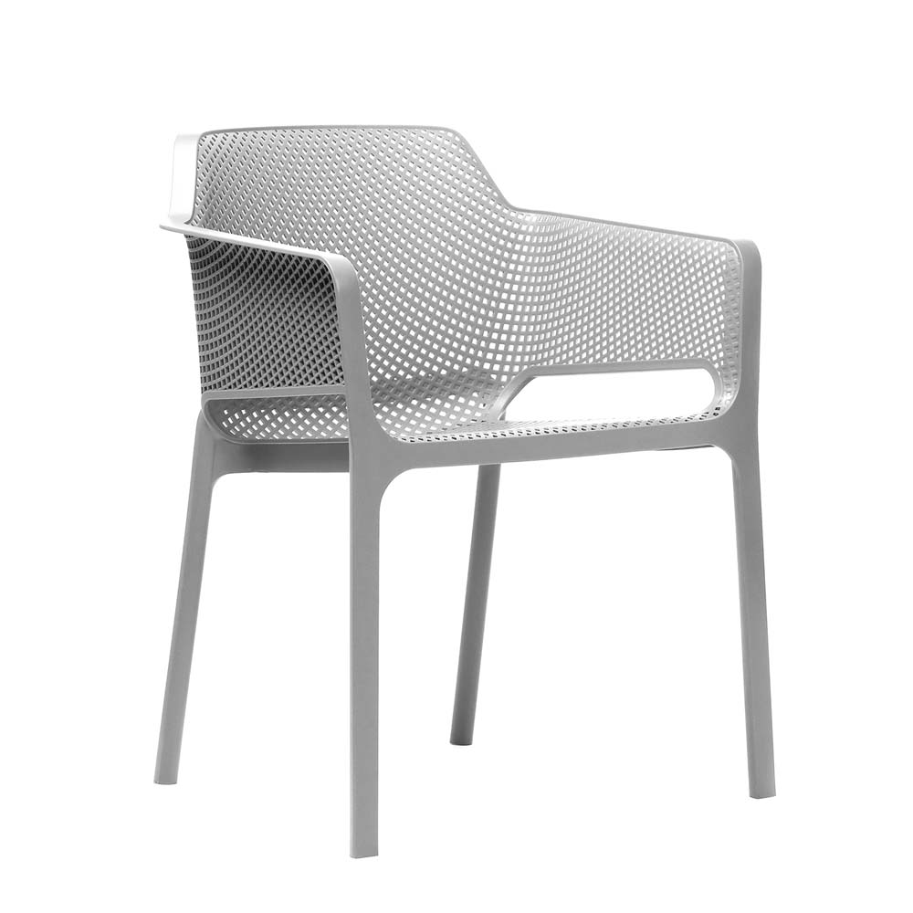 Net Chair White - front side