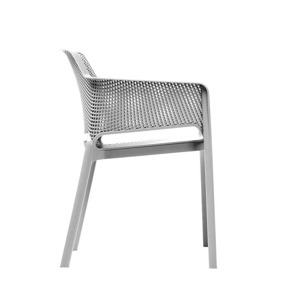 Net Chair White - side