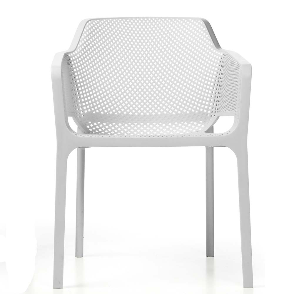Net Chair White - front