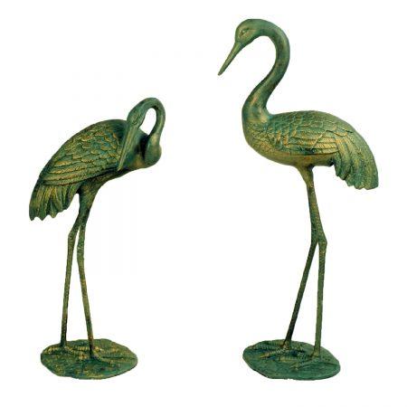 Pair of large Cranes