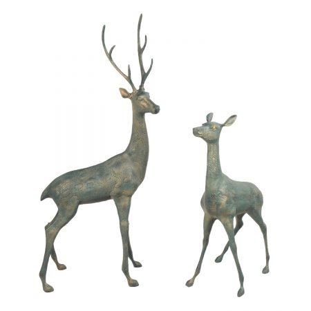 Large deer - Verdigris