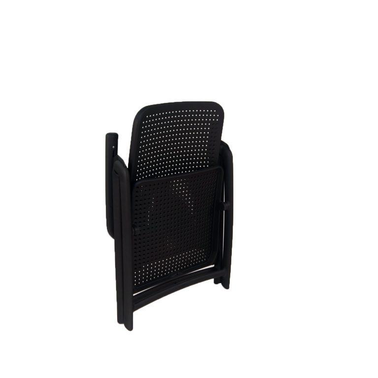 Darsena Chair Anthracite grey folded