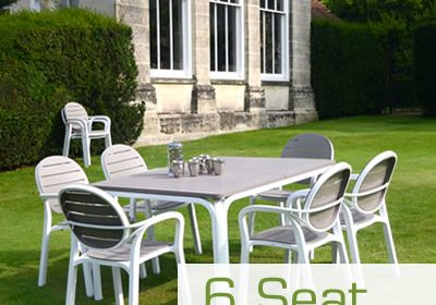 6 Seat Garden Furniture
