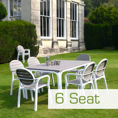 6 Seat Garden Furniture Dining Set
