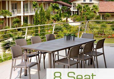 8 Seat Garden Furniture