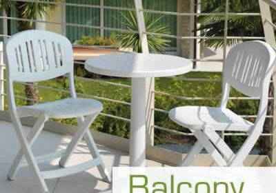 Balcony and small patio furniture