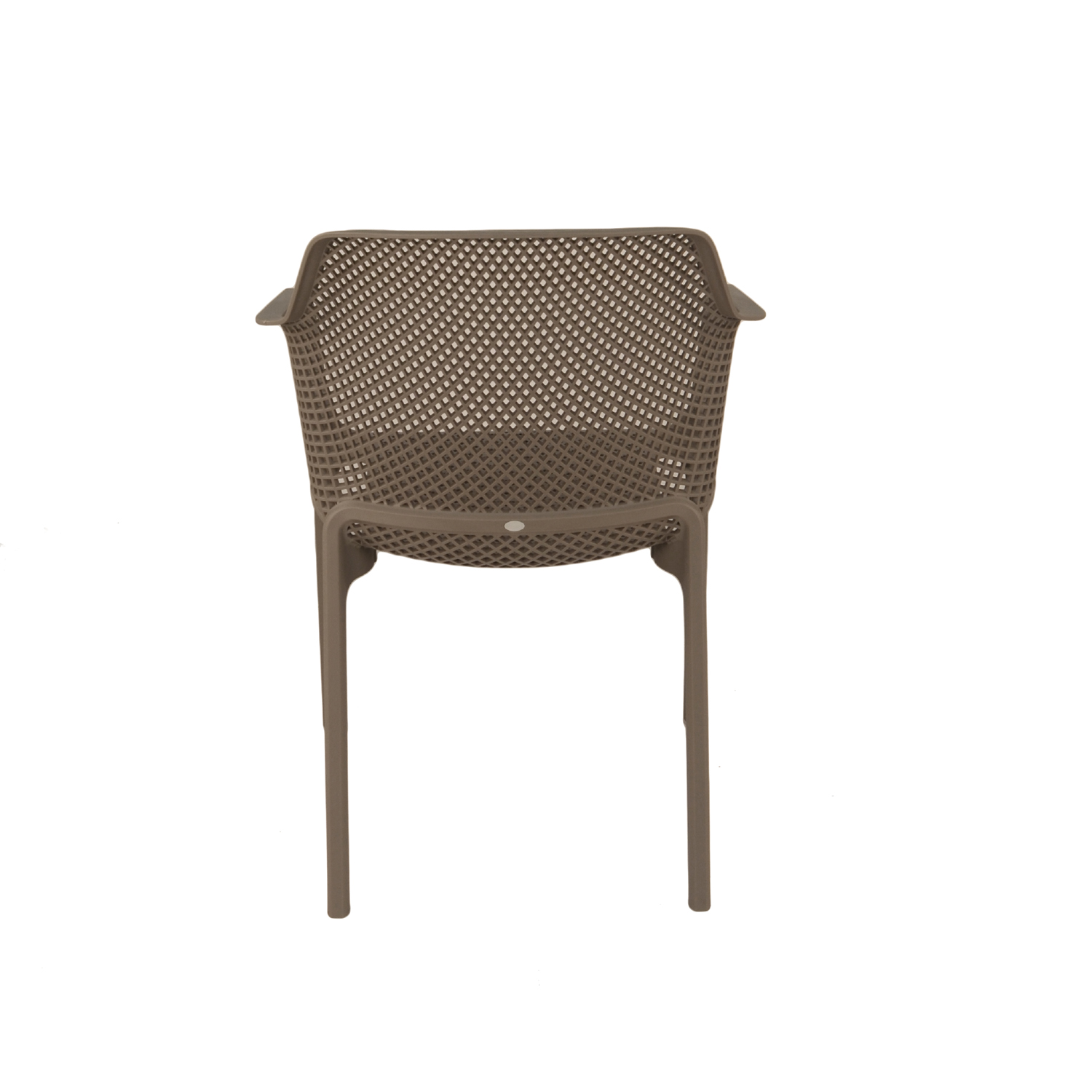 Net Chair - Turtle Dove Grey back