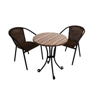 ST-552 Kalmar Bistro set with San Luca chairs