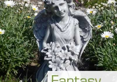 Fantasy statues for the garden