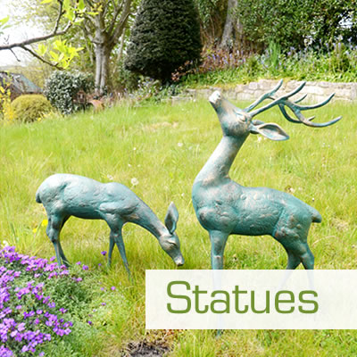 Indoor and Outdoor Garden Statues and Ornaments