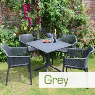 Wondrous Anthracite Charcoal Grey Resin Garden Furniture Interior Design Ideas Gentotryabchikinfo